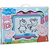 Peppa Pig Magna Magnetic Doodle Draw Drawing Erase with Stamps 4 Stencils