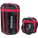 caffmo コンプレッションバッグ 大容量 スタッフバッグ 圧縮バッグ 収納袋 寝袋&衣類圧縮保管袋 キャンプ アウトドア