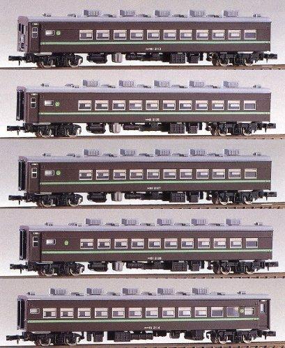 Nゲージ 101 81系和式客車 5輌編成セット (未塗装車体キット)