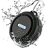 Dylan(ディラン) Bluetooth スピーカー 防水(IP65等級) 防塵 耐衝撃 ノイズクッションマイク内蔵 コンパクトサイズ 吸盤式 アウトドア仕様 ブラック