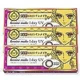 SEED×ヒロインメイク ワンデー UV 1日使い捨てカラーコンタクト 1箱10枚 × 3箱セット (±0.00)