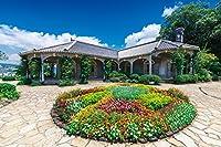 1000ピース ジグソーパズル めざせ!パズルの達人 旧グラバー住宅と花咲く庭園-長崎(50x75cm)