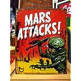 アメリカンブリキ看板 マーズアタック/火星人襲来! (こちらの商品の内訳は『1点』のみ)