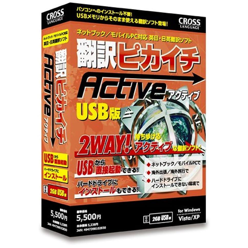 規則性したがってフレームワーク翻訳ピカイチ アクティブ (USBメモリ版)