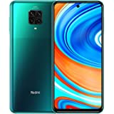 "Xiaomi, Redmi Note 9 Pro Smartphone 6GB RAM 64GB ROM 6.67"" DotDisplay 64MP AI Quad Cámara 5020mAh Tropical Green [Global Vers"