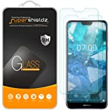 (2 Pack) Supershieldz for Nokia 7.1 Tempered Glass Screen Protector, Anti Scratch, Bubble Free