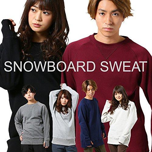 [해외]스노우 보드 스웨터 설치 땀 발수 가공 긴 길이 이너 SULLENS 남성 여성 스노 보드 스키 보드웨어 스노우 보드웨어/Snowboard sweat tall sweat water repellent processing long length inner SULLENS men`s ladies snowboarding ski boardware sno...