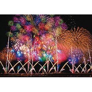 1000ピース 光るジグソーパズル 世界遺産 長岡の大花火(49x72cm)