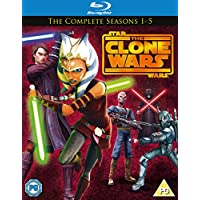 Star Wars Clone Wars - Season 1-5