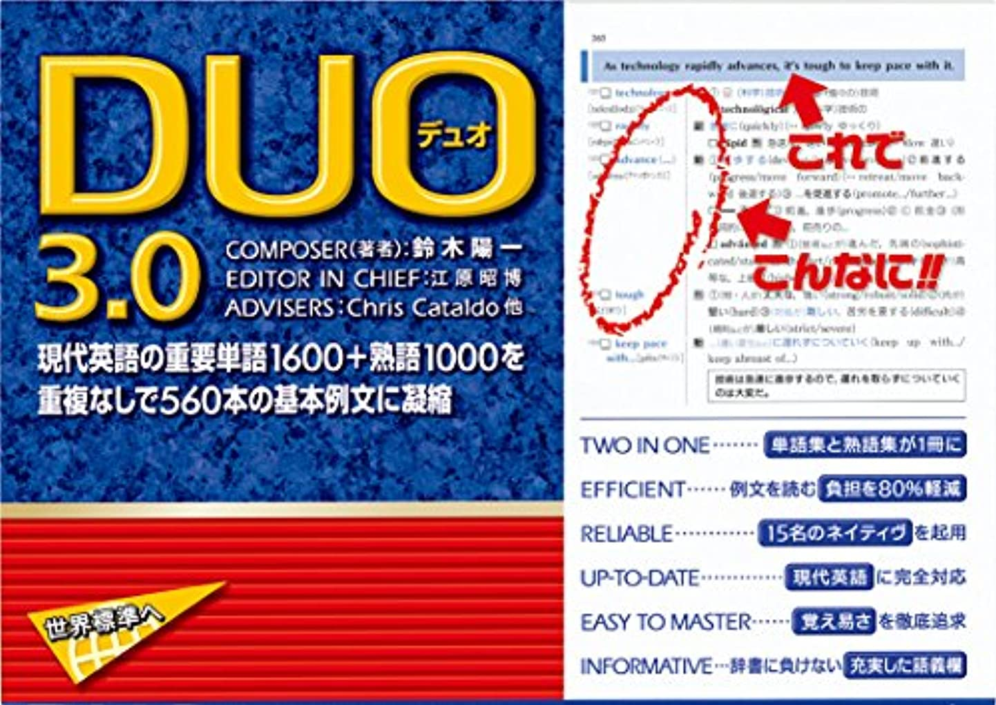 シリアルロゴ気を散らすDUO 3.0