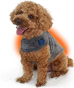 電熱ウェア[暖]-DAN- あったかヒーターウェア ペット暖 犬 猫 costick 防寒 ペットウェア 犬服 (S)