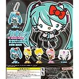 初音ミク×Hello Kitty ボーカロイド×ハローキティ ボールチェーンマスコット シークレット1種含む全6種セット