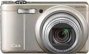 RICOH デジタルカメラ CX4 シャンパンシルバー CX4CH 1000万画素裏面照射CMOS 光学10.7倍ズーム 広角28mm 3.0型液晶 高速連写
