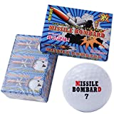 LEZAX(レザックス) Missile Bombard 非公認高弾性高反発2ピースゴルフボール 6個入り MBBA-2116