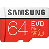 Samsung EVO Plus 64GB microSDXC UHS-I U3 100MB/s Full HD & 4…