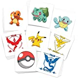Pokemon Party Pack Temporary Tattoos | Over 30 Tattoos | Skin Safe | MADE IN THE USA| Removable