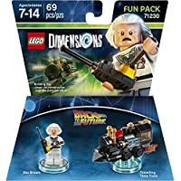 LEGO Dimensions Fun Pack Back to the Future Doc Brown レゴ Dimensions ファンパックバックトゥザフューチャードク・ブラウン (輸入版)