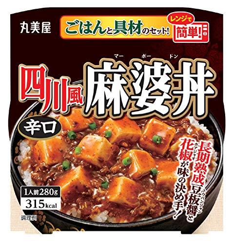 四川風麻婆丼 辛口 国産ごはん付き 280g
