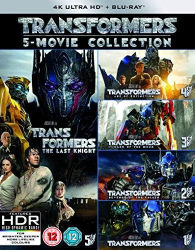 トランスフォーマー コレクション [4K UHD + Blu-ray UHDに日本語有り リージョンフリー](Import版)