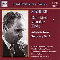 Mahler: Lied Von Der Erde (Das) (Walter) (1936-1938)