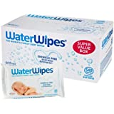 WaterWipes Sensitive Baby Wipes, Natural & Chemical-Free, 540 Sheets (Pack of 3)