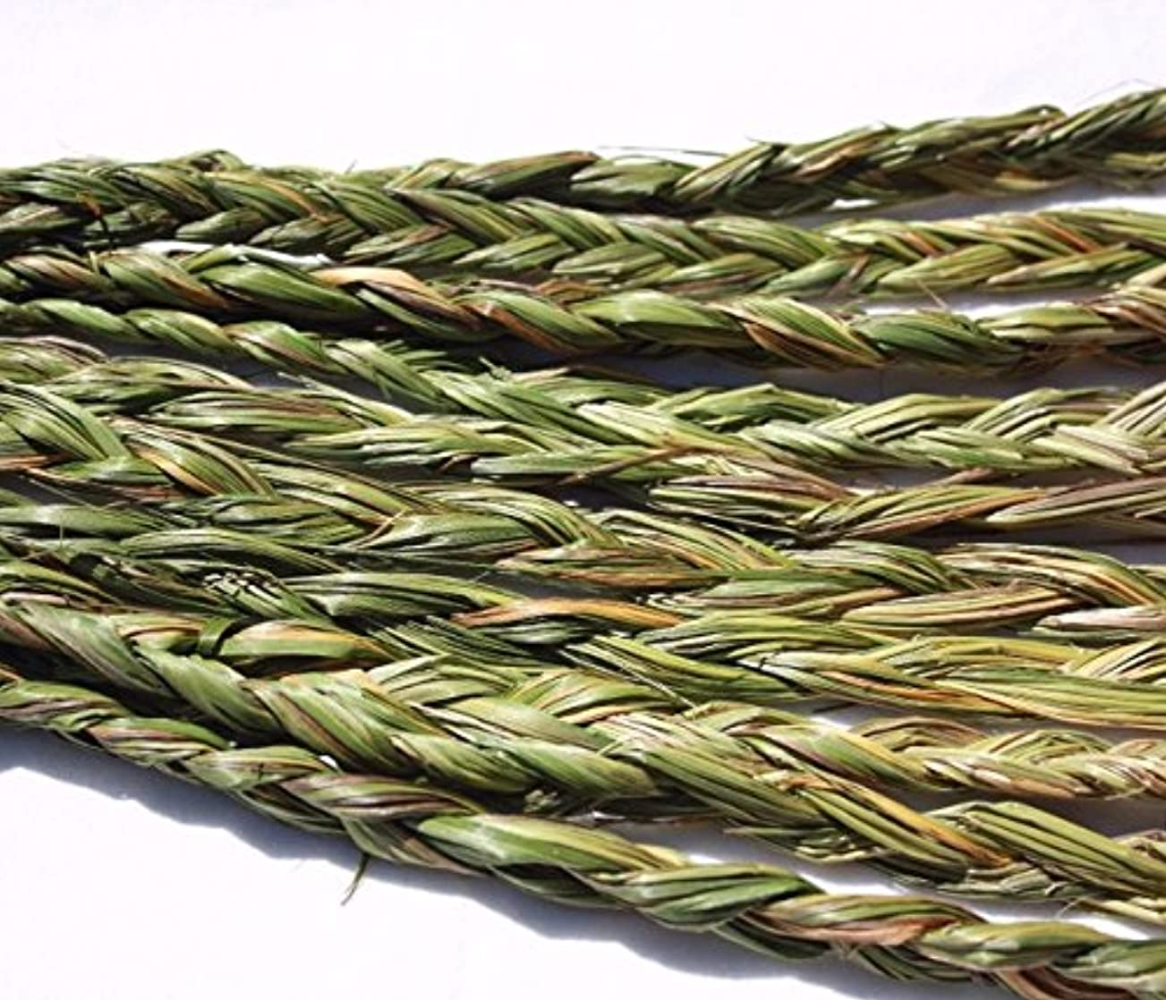 彼女弁護くつろぐオーラVariety Braided Sweetgrass for Smudging – 20