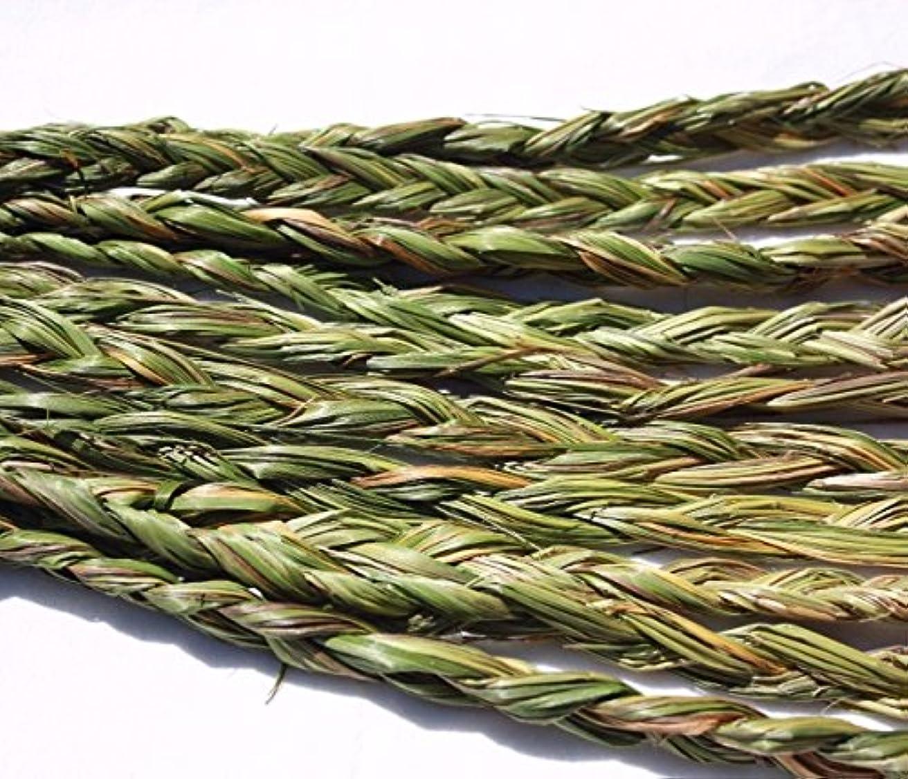 びっくりする飢饉許すオーラVariety Braided Sweetgrass for Smudging – 20