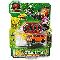 恐竜メカード Dino Mecard Capture Car Toy DEVONNE & NYCHUS 韓国テレビの子供アニメのおもちゃ [海外直送品]