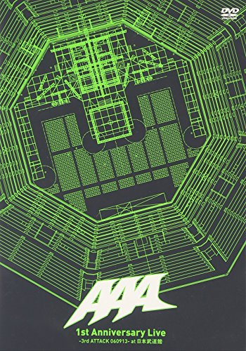 1st Anniversary Live-3rd ATTACK 060913-at 日本武道館 [DVD]