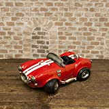 玩具 おもちゃ 細かい作りが魅力的な アンティーク調 マネーバンク オープンカー レッド