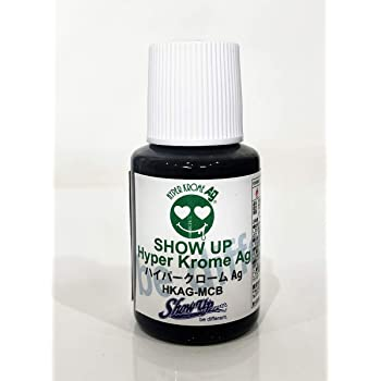 SHOW UP【完全メッキ調塗料 ハイパークロームAg 15g マイクロボトル】 HKAG-MCB