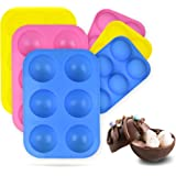 Hot Chocolate Bomb Mold (3PCS)   Baking Mold for Making Hot Chocolate Bombs, Cake, Jelly, Candy, Cocoa balls   Semi Sphere Si