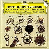 ハイドン:交響曲第96番「奇蹟」&第100番「軍隊」&第101番「時計」