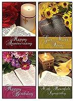すべての機会Boxedカード–The Living Word 12入りカードIncludes KJV Scriptures