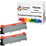 Cartridge Planet 2-Pack Compatible Toner Cartridge for Brother TN-2350 TN2350 (2,600 Pages) for Brother HLL2300D HLL2305W HLL
