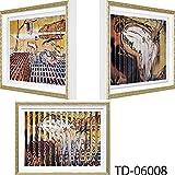 【名画】トリック ダブルアート(ダリ「記憶の固執の崩壊」・「柔らかい時計」) 絵画 インテリア 壁掛け アート ポスター フック 海 ピカソ 額縁