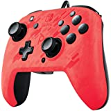 Faceoff Deluxe + Audio Wired Controller Red Camo - Nintendo Switch