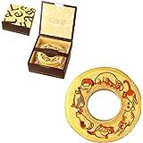 猫 バームクーヘン バウムクーヘン 動物 イラスト お菓子 1個 ギフト箱入り 茶色(ブラウン)の箱
