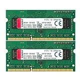 キングストン ノートPC用メモリ DDR3-1600 (PC3-12800) 4GB×2枚 CL11 1.5V Non-ECC SO-DIMM 204pin KVR16S11S8K2/8 永久保証