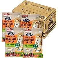 ニャンとも清潔トイレ 脱臭・抗菌チップ 大容量 極小の粒 4.4L×4個(ケース販売) [猫砂]