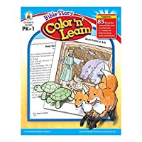 Carson Dellosa Publications CD-204073BN Bible Story Color N Learn Grade 0:88 Height 8.5 Wide 10.88 Length (Pack of 2) [並行輸入品]
