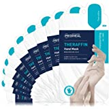 MEDIHEAL Theraffin Hand Mask 10 Pairs - Hand Moisturizing Gloves with Argan Oil, Shea Butter, Moisturing and Repairing Damage