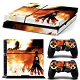 EBTY-Dreams Inc. - Sony Playstation 4 (PS4) - Shingeki no Kyojin Attack on Titan Anime Eren Jaeger Vinyl Skin Sticker Decal Protector by EBTY-Dreams Inc. [並行輸入品]