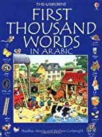 First 1000 Words in Arabic (Usborne First 1000 Words)