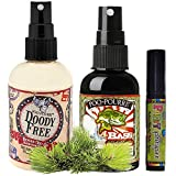 poo-pourriギフトセット、poo-pourri before-you-goトイレ4オンス、ボトル、スプレーDoodyフリー、poo-pourri before-you-goトイレスプレー2-ounceボトル、Bass Ackwards、4ml旅行サイズ使い捨てSpritzer、パーティーPooper