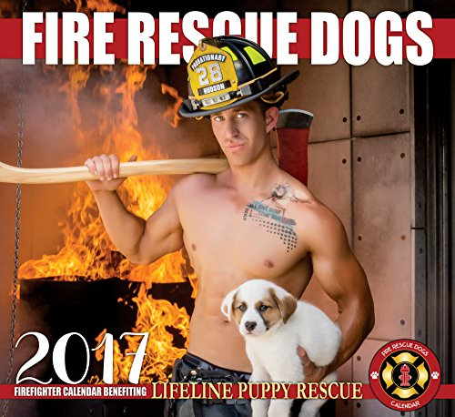 2017Fire Rescue犬カレンダー