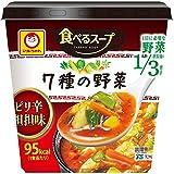 マルちゃん 食べるスープ 7種の野菜ピリ辛担担味 28g×6個