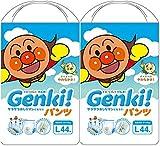 【まとめ買い】ネピア GENKI! パンツ Lサイズ 44枚×2個