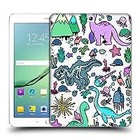 Head Case Designs Kawaiiビースト プレヒストリック・パターン Samsung Galaxy Tab S2 9.7 専用ハードバックケース