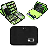 Electronics Accessories Organizer Bag,Portable Tech Gear Phone Accessories Storage Carrying Travel Case Bag, Headphone Earpho